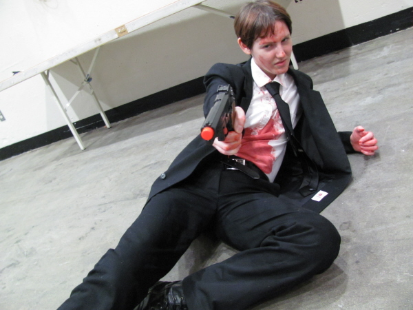 A Look at Gameplay and Streaming Contest for Reservoir ...  Reservoir Dogs Cosplay