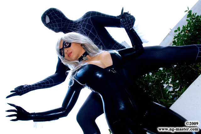 u003cu003c Full Size u003eu003e  sc 1 st  American Cosplay Paradise : black cat costume spiderman  - Germanpascual.Com