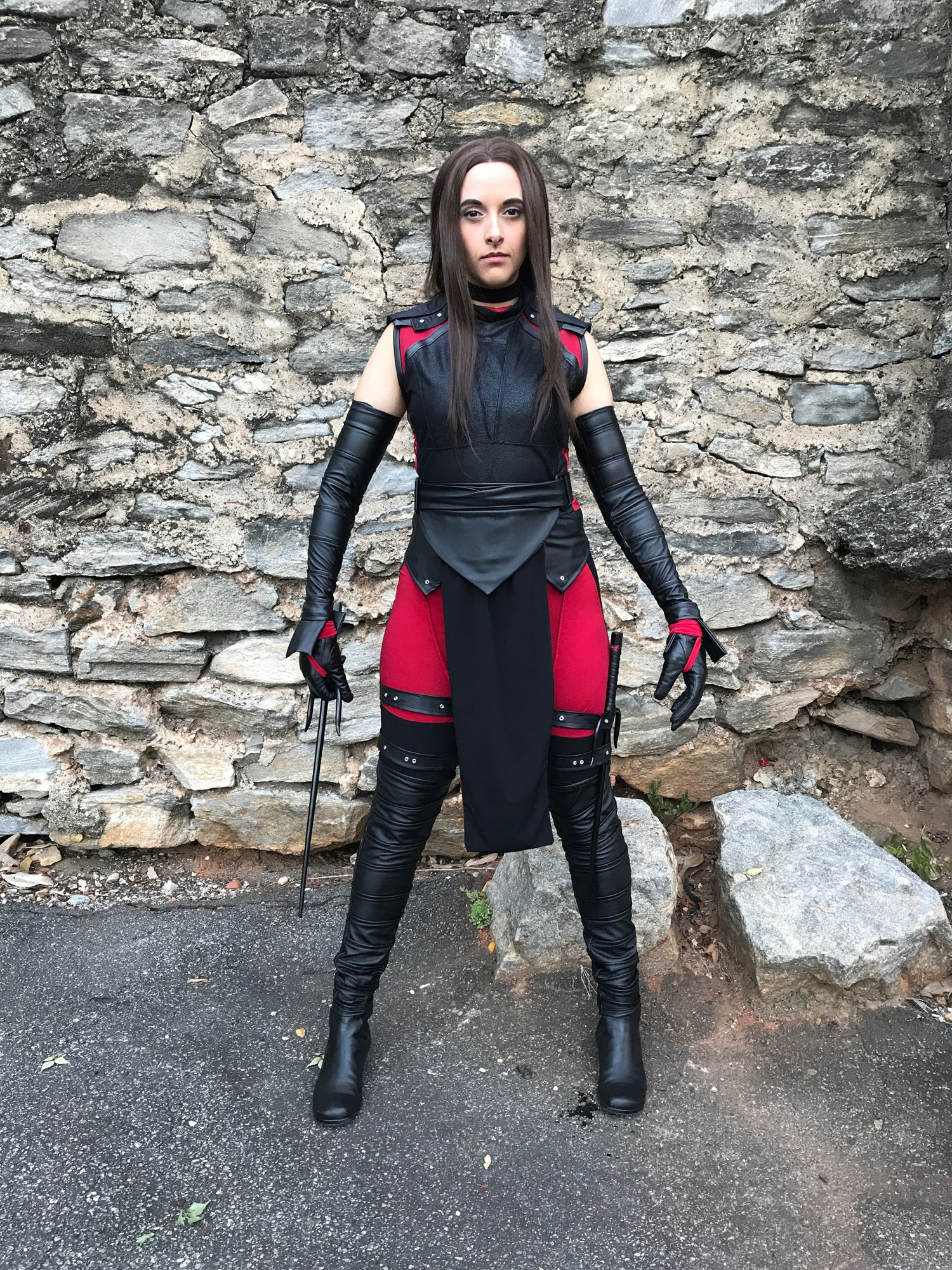 and cosplay Daredevil elektra