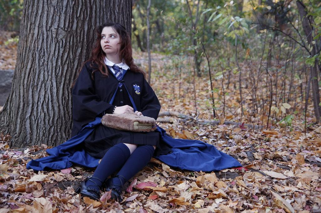 Ravenclaw student