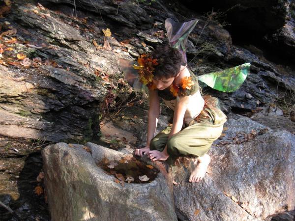 Bilbo The Mystical Forest Sprite Original Fantasy By