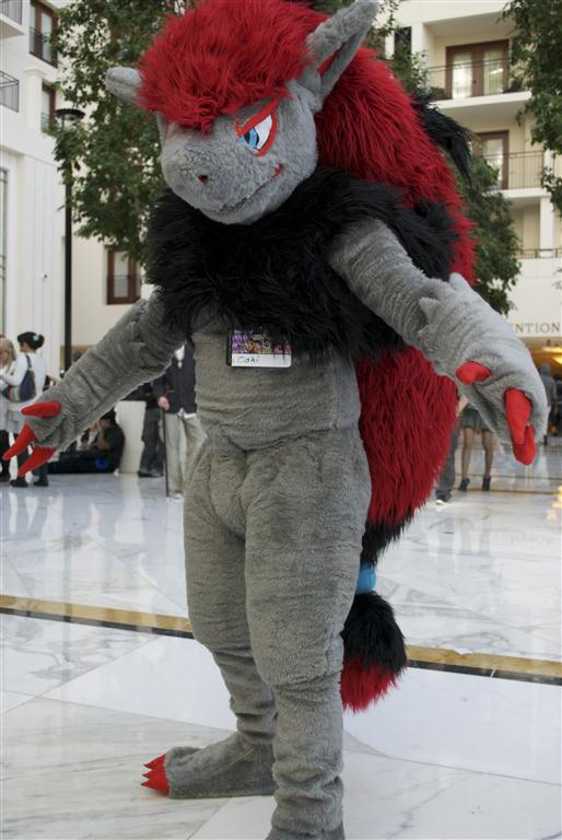 how to make a zoroark costume