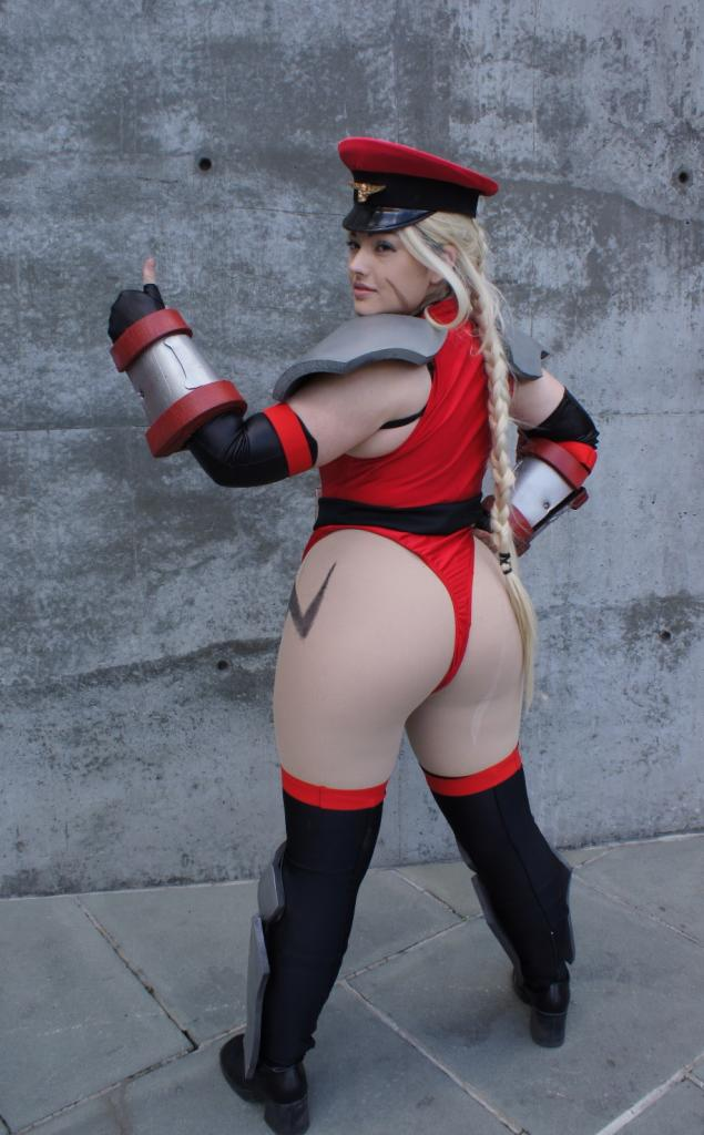 Cammy from street fighter cosplay pov doggy style sex clip 5