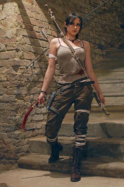 Lara croft tomb raider by nefeline - Tomb raider deguisement ...
