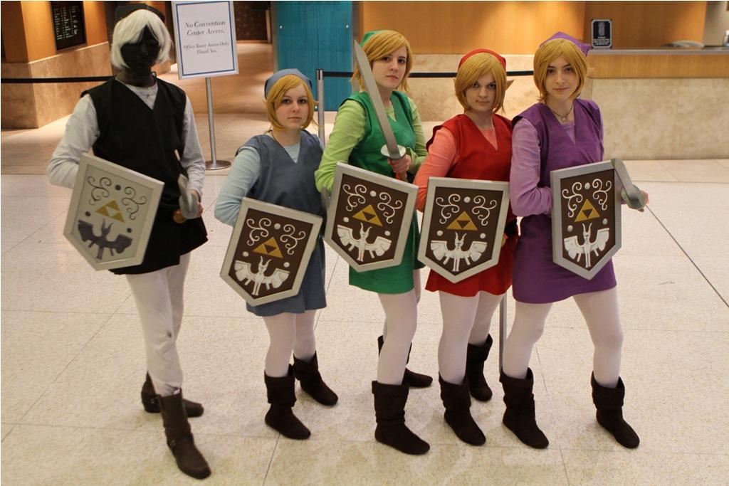 Link Four Swords Cosplay Link (Legend of Zelda:...