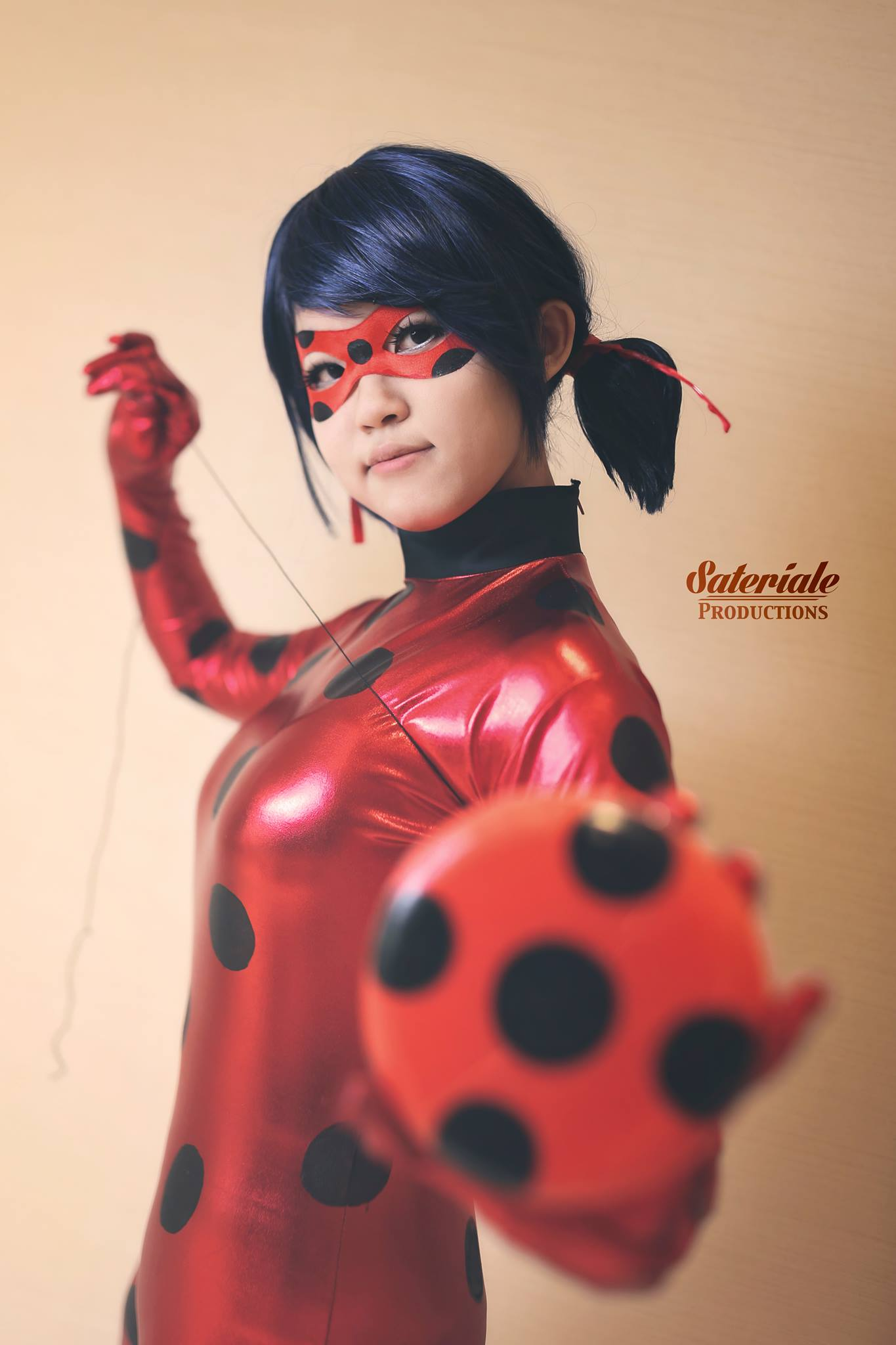 how to make a miraculous ladybug costume