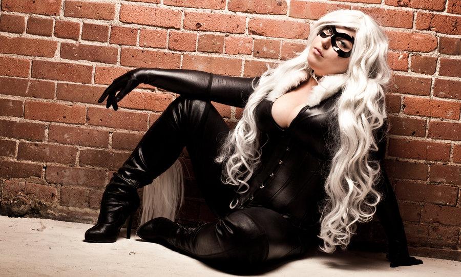 Black Cat Costume Spiderman Sc 1 St Yaya Han