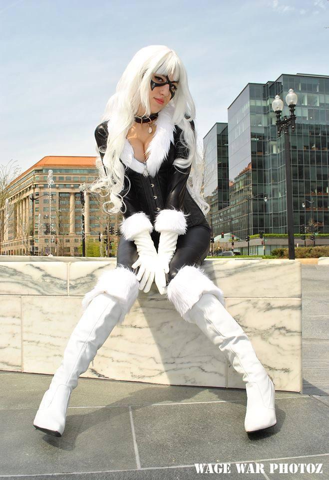 Black Cat Spider Man By Sugar Blossom Acparadise Com