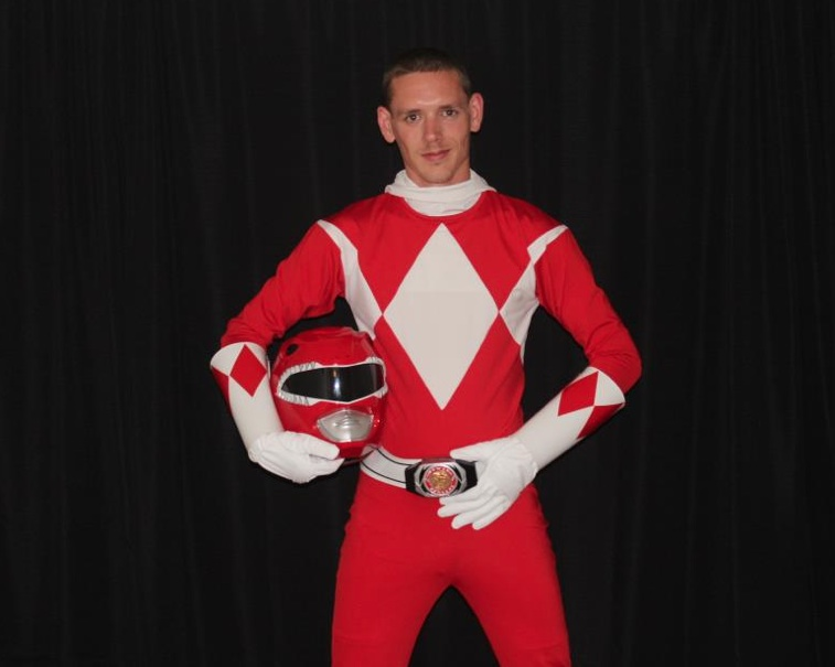 from Eric gay red power ranger