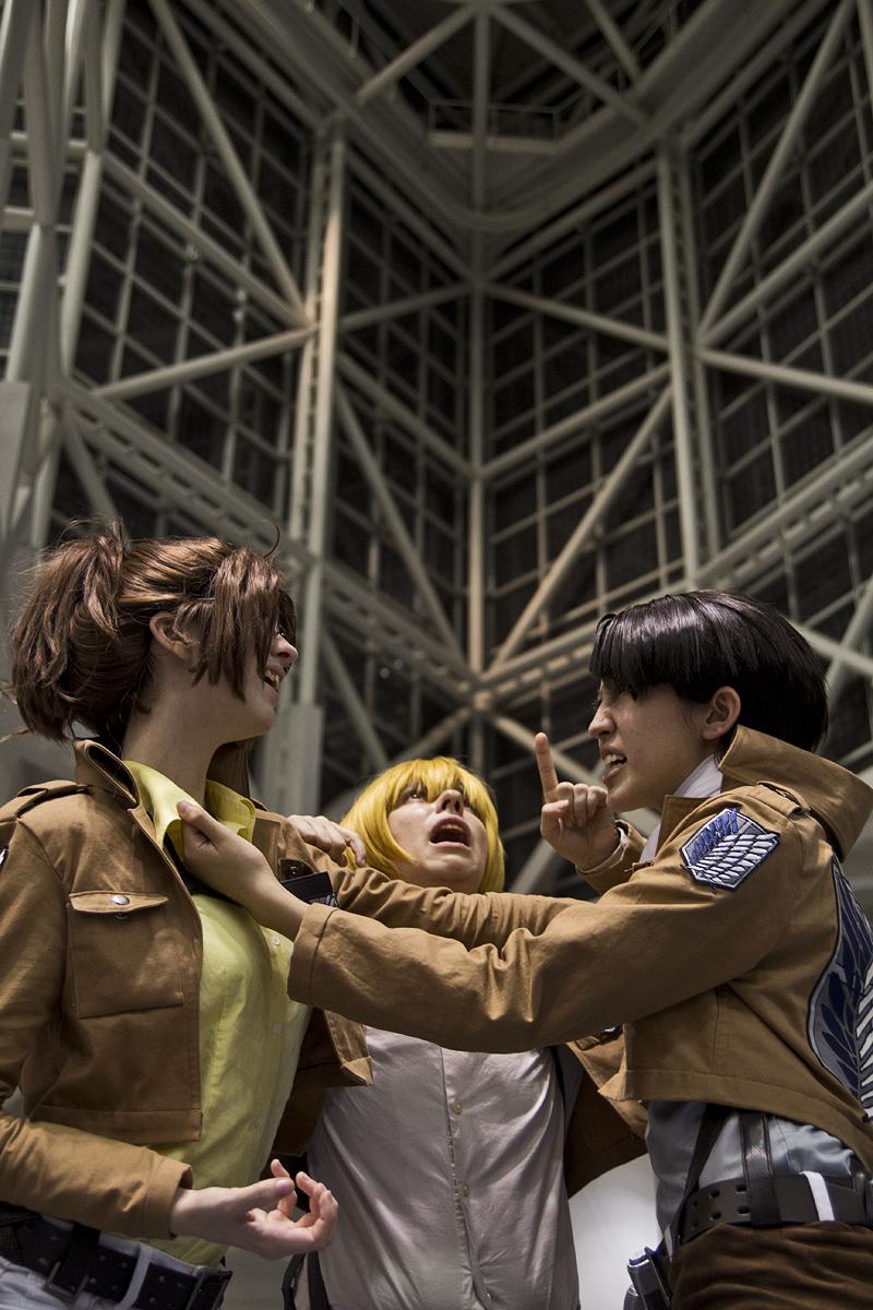 Attack on titan cosplay hanji